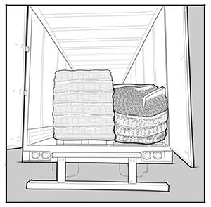 In Plant Unit Load Transportation Illustration