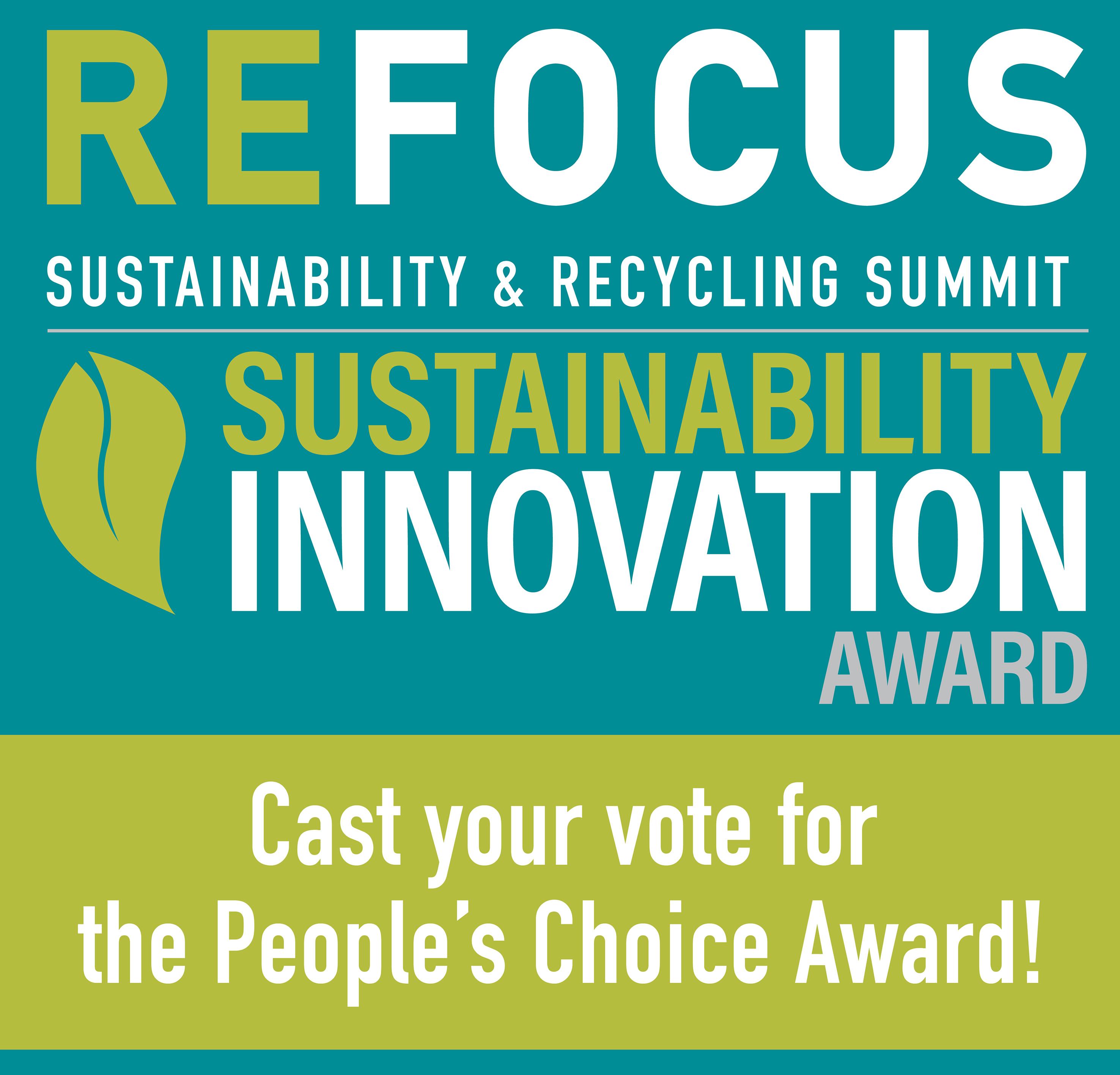 Refocus Sustainability Innovation Award